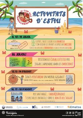 Activitats d'estiu del Club dels Tarraconins