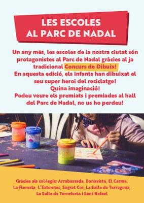Guanyadores i guanyadors del concurs de dibuix de les escoles!
