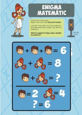 Solució de l'enigma matemàtic